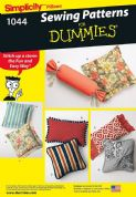 1044 Simplicity Pattern: Cushions in Various Styles